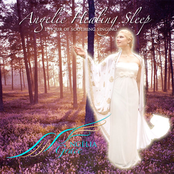 Official Cover Angelic Healing Sleep – Angèlia Grace