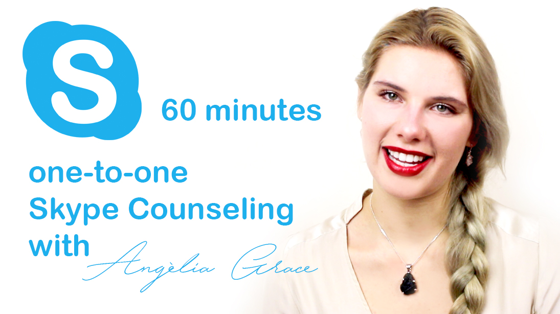 60 minutes Skype counselling with Angèlia Grace